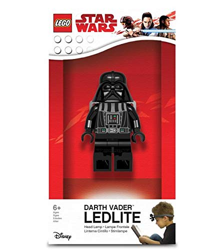 LEGO Star Wars – Darth Vader LED Head Lamp w/ Elastic Headband