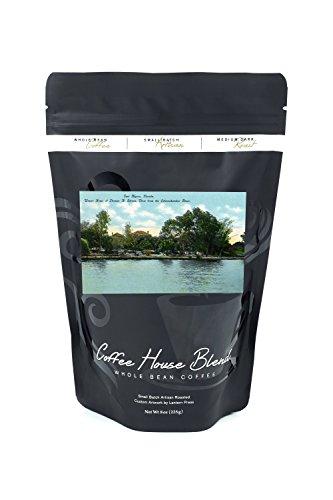 Fort Myers, Florida - Edison Home from the Caloosahatchee River (8oz Whole Bean Small Batch Artisan Coffee - Bold & Strong Medium Dark Roast w/ - Edison Fort Myers