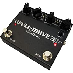 Guitar Overdrive Pedal with NOS JRC4558D Chip, Boost-order Switch, and Selectable Voicings