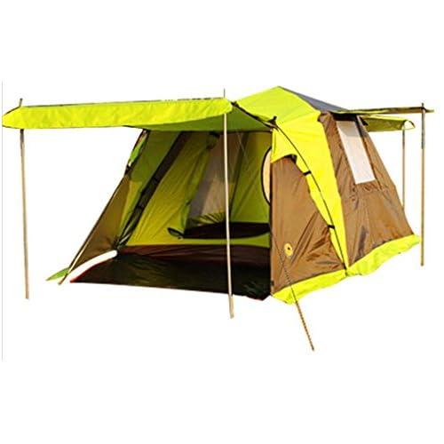 Quatuor camping tente extérieure automatique 3-4