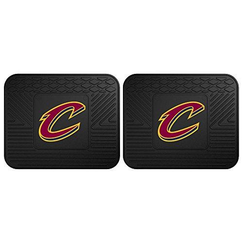 Cavaliers Mats Car (Fanmats 12367 NBA - Cleveland Cavaliers Utility Mat - 2 Piece)