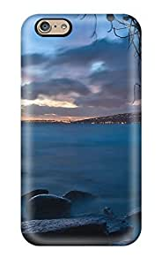 Premium SPOqtXy6660weznY Case With Scratch-resistant/ Lake Earth Clouds Sky City Nature Lake Case Cover For Iphone 6