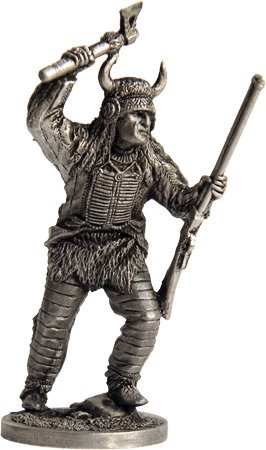 The Indian Tin Toy Soldiers Metal Sculpture Miniature Figure Collection 54mm (scale 1/32) (WW-1)