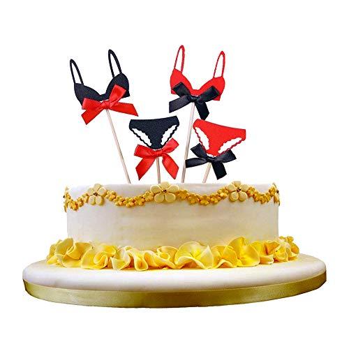 NN-BH Happy Birthday Cake Topper Birthday Party Cake Decoration Sexy Bikini ()