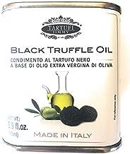 Tartufi Jimmy Black Truffle Oil 5.9 fl.oz. (175ml) made with extra virgin olive oil in Italy