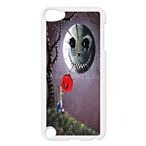 Fggcc Cat Alice In Wonderland Dark Cat Case Cover for Ipod Touch 5,Cat Alice In Wonderland Dark Cat Ipod Touch 5 Shell Case (pattern 9)