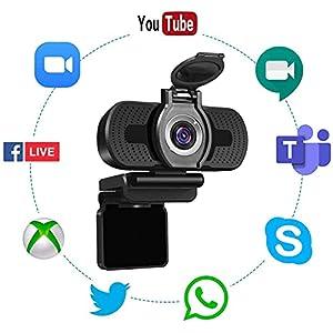 LarmTek USB Webcam 1080P with ...