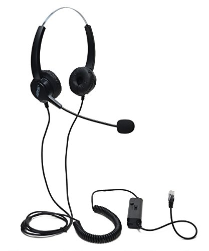 audio-conference-equipment-agptek-hands-free-efficient-call-center-binaural-corded-4-pin-rj9-crystal
