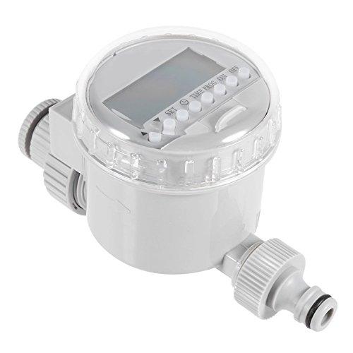 Mayitr Garden Watering Timer Solar Digital LCD Auto Watering Timer Water Saving Irrigation Controller Watering System