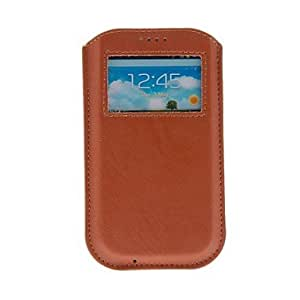 DUR Kinston Universal Luxury Skylight Style PU Leather Full Body Case for Samsung S3 I9300/S4 I9500