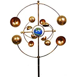 Echo Valley 4393 Illuminarie Zydeco Kinetic Spinner Stake, 16 by 6.88 by 48-Inch