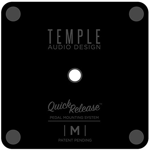 Plate Pedal Plate (Temple Audio Quick Release Pedal Plate with Screw - Medium)