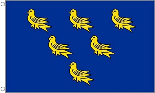 Sussex Flag 5ft x 3ft