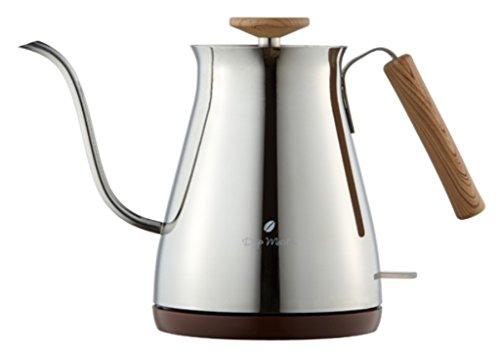 APIX Electric Cafe Kettle (0.7L) AKE-277-SL (Silver)【Japan Domestic genuine products】 by APIX