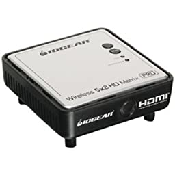 IOGEAR GWHDRX01 Wireless HD Matrix Receiver for GWHDMS52MB