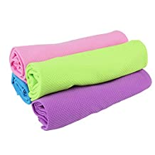 Qianle Bamboo Fiber Kitchen Dish Towels Fast Drying Water-absorbing Washcloths 3 PC