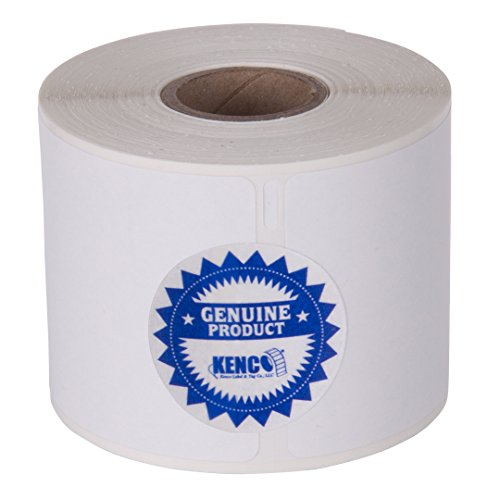 Badge Dymo Label Name (Dymo Compatible 1760756 2 1/4in X 4in Name Badge Labels 250 Per Roll by Kenco Label (1 Pack) (1 Pack))
