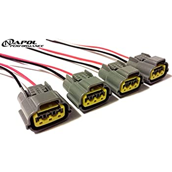 amazon com ignition coil pack wiring harness connector for altima rh amazon com Electrical Wire Loom Two Harness Loom