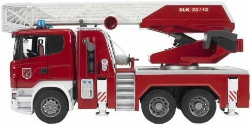 Bruder 03590 Scania R-Serie Fire Engine with Water Pump and L and S Module
