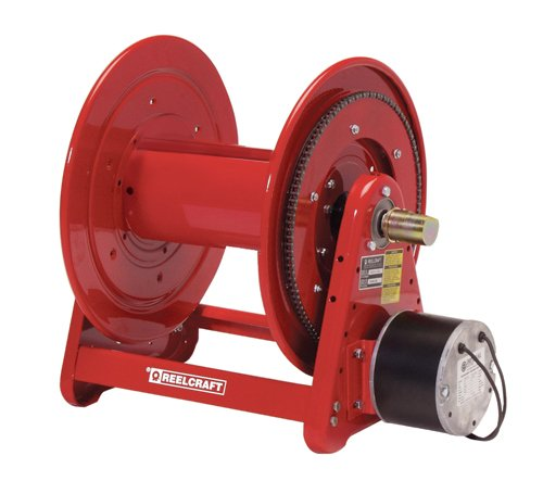 Reelcraft EB37118-L12D 1'' x 100ft, 300 psi Hose Reel 12V Electric Motor by Reelcraft