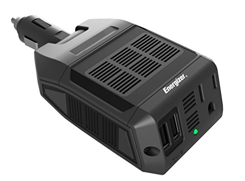 Energizer EN100 Ultra Compact DC to AC 100W Direct Plug-in Power Inverter (100w Power Inverter)