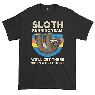 Sleeky Sloth Running Team T-Shirt - Sloth T-Shirts