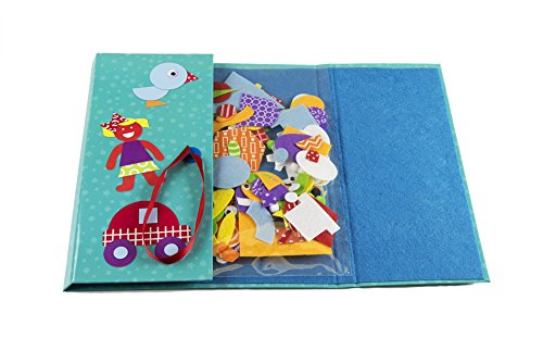 Creativity For Kids My First Fun Felt Shapes Portable Felt Board