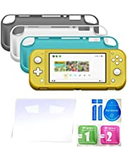 Mainstayae Matte Soft TPU Shell Protection Case Replacement for Nintendo Switch Lite Cover Skin Accessories With 4 Game Card Slots