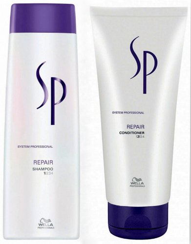Wella SP Repair Set Shampoo 250ml + Conditioner 200ml