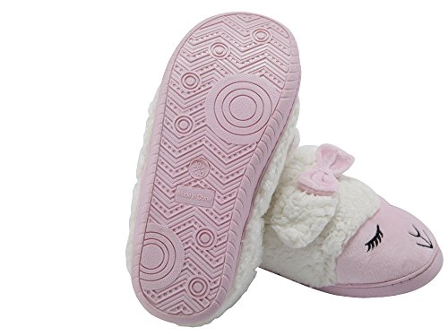 Women For Sheep House Pink Slip Non Fleece Plush Indoor Winter Boots Shoes Slippers Bedroom MiYang Warm T6tRI