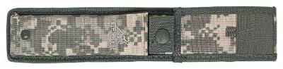Gerber Warrant Knife, Serrated Edge, Tanto, with Camo Sheath [31-000560]