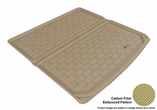 (3D MAXpider Cargo Custom Fit All-Weather Floor Mat for Select Mercedes-Benz ML-Class (W164) Models - Kagu Rubber (Tan))