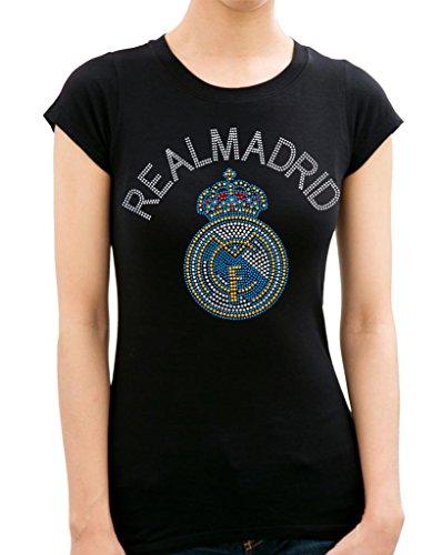 REAL MADRID HANDMADE Rhinestone T-Shirts