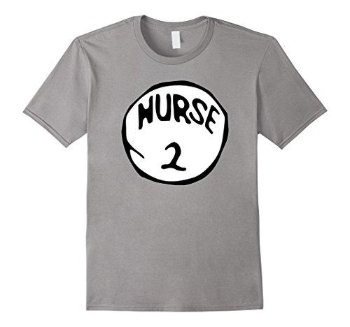 Men's Nurse 2 Funny RN Holiday Halloween Costume Nurses T-Shirt 2XL Slate (Funny Nurse Costumes)