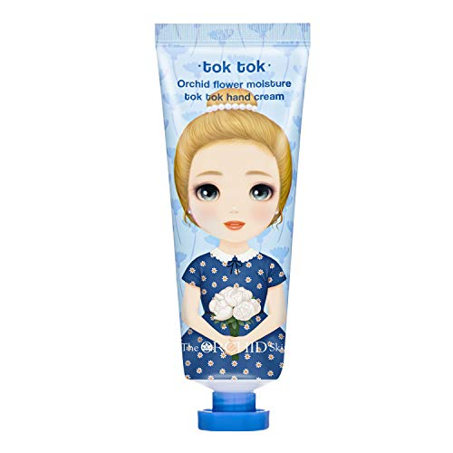 Hand Cream For Women, Unisex, Hand Lotion For Dry Hands, Hydration, Moisturizer, Moisture Tok Tok The Orchid Skin, Orchid Flower2.1 o.z