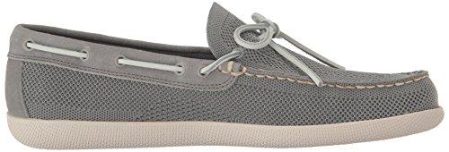 Gh Bass & Co. Mens Walker Boat Shoe Grigio