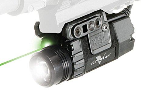 Viridian X5L-RS Universal TacLight w/Pressure Switch, Green by VRDN