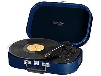Tocadiscos Portatil Sally MP3 USB Bluetooth Trevi TT 1020 BT Azul ...
