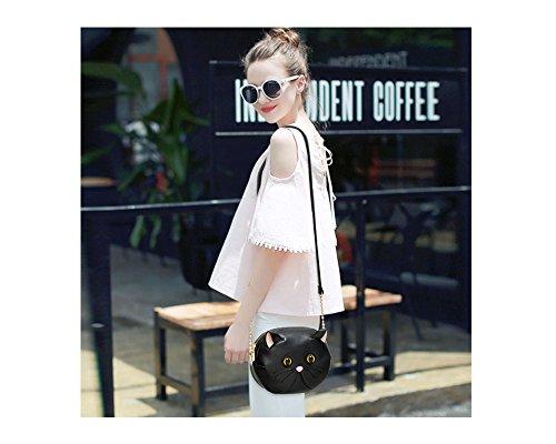 Personality Cat Women Shoulder Bags �?Fashion Design Cat Shape Female CrossBody Bags