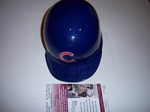 Autographed Mlb Mini Helmets - Greg Maddux Chicago Cubs coa Signed Mini Helmet - JSA Certified - Autographed MLB Mini Helmets