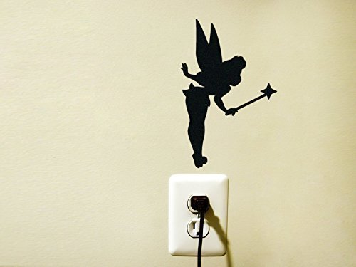 Fairy Dust Vinyl Decal Sticker Light Switch Kids Nursery Decor