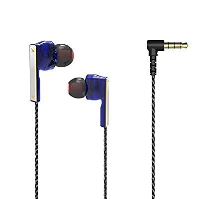 GranVela V2 Dual Driver Hi Definition Earphones (Blue)