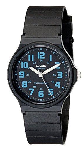Casio Unisex MQ-71-2BCF Classic Luminous Hands Watch With Black Resin Band (Eberhard Watch)