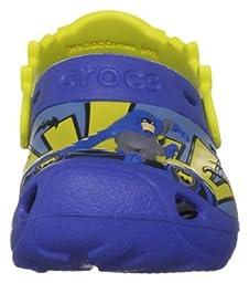 Crocs Caped Crusader Clog (Toddler/Little Kid),Sea Blue,4-5 M US Toddler
