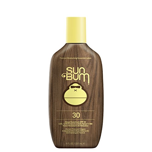 Sun Bum Original Moisturizing Sunscreen SPF 30 Lotion - Broad Spectrum UVA/UVB - Water Resistant & Non-Greasy Protection, SPF 30 - 8 oz. Bottle