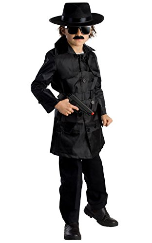 Double Agent Costume (Spy Agent Costume (Large 12-14 (39