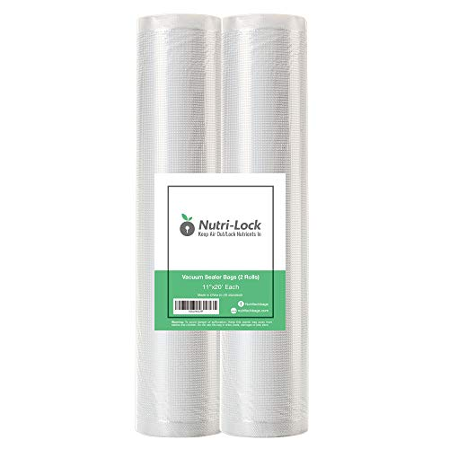 20' Foodsaver Roll - Nutri-Lock Vacuum Sealer Bags. 2 Pack 11