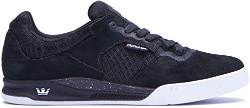 Supra Avex Black/White/White Sneaker Men's 9, Women's 10.5 D – Medium