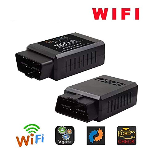 (OBD WiFi Bluetooth Car WiFi OBD 2 OBD2 Scan Tool,Vehicle Code Failure Scanner Adapter Automatically Checks The Vehicle Status Detector)