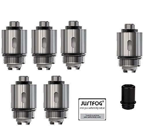Justfog Q16 Pro OCC Coil Serie 5er Pack Verdampferköpfe 1,6Ohm